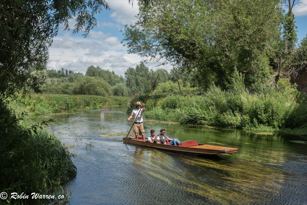 Punting on the Stour