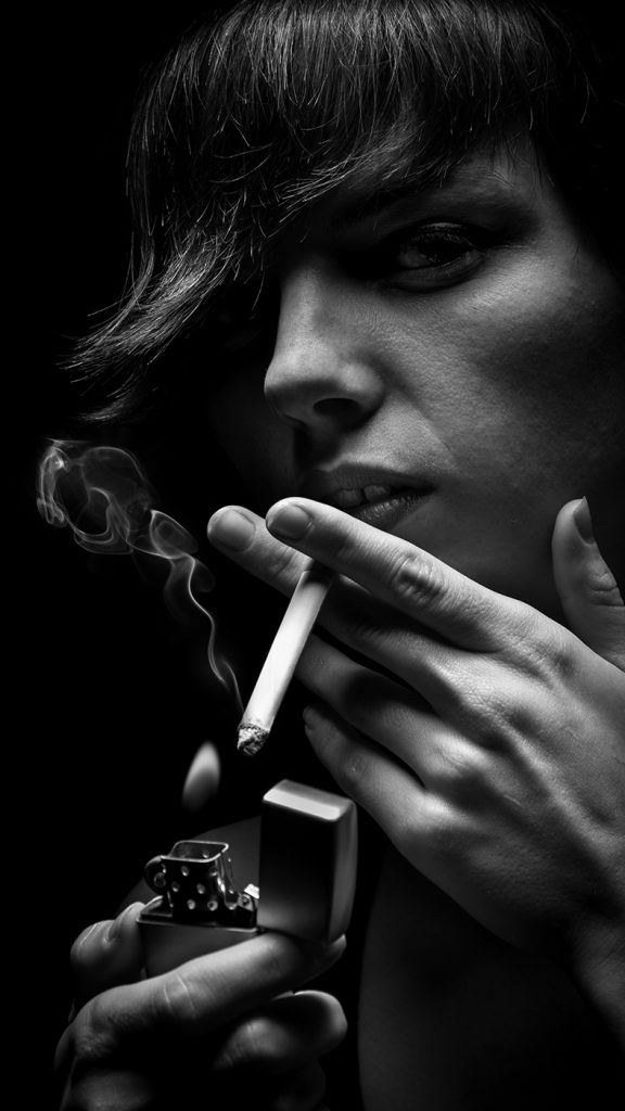 Smoking can damage your health